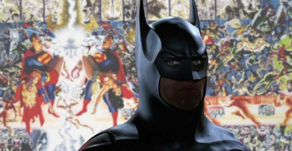 Batman Return de Michael Keaton est-il en train de configurer l'événement de film de crise de DC?